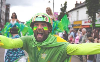 Desborough Carnival in High Wycombe