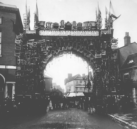 High Wycombe chair arch 1884