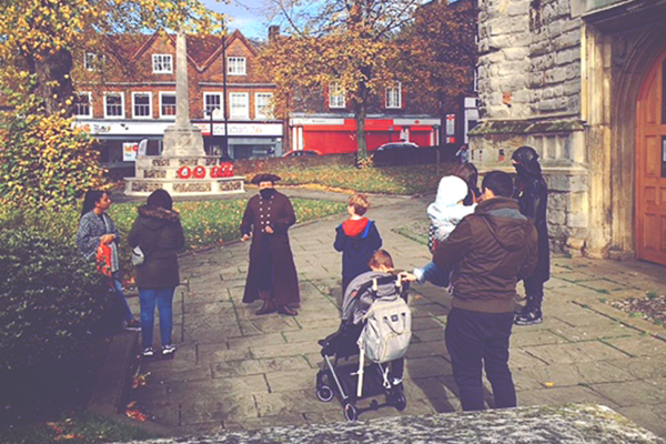 High Wycombe ghost tour
