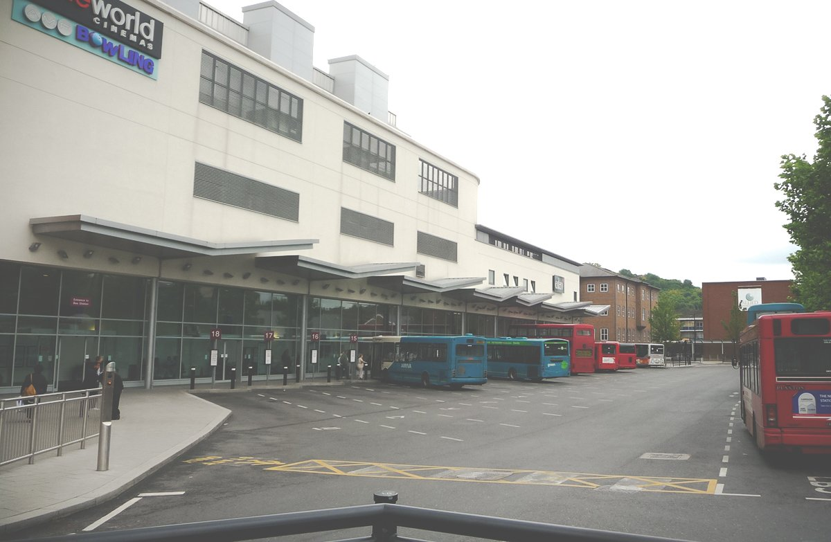 Bus station High Wycombe